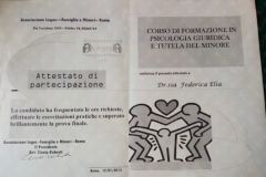 Formazione-Psico Giuridica e tutela del Minore